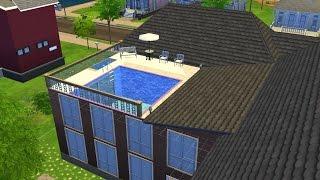 Sims 4 Oynuyoruz  Ev Yapımı: Coventgarden Evi Part III(SON) + Evin Her Açıdan Ekran Görüntüleri