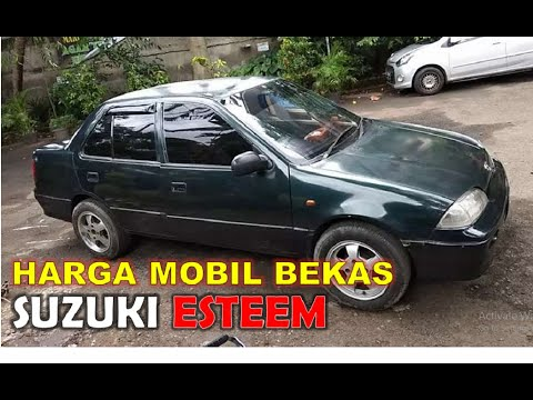 Harga Mobil Bekas Suzuki Esteem Tahun 1992 1995 Youtube