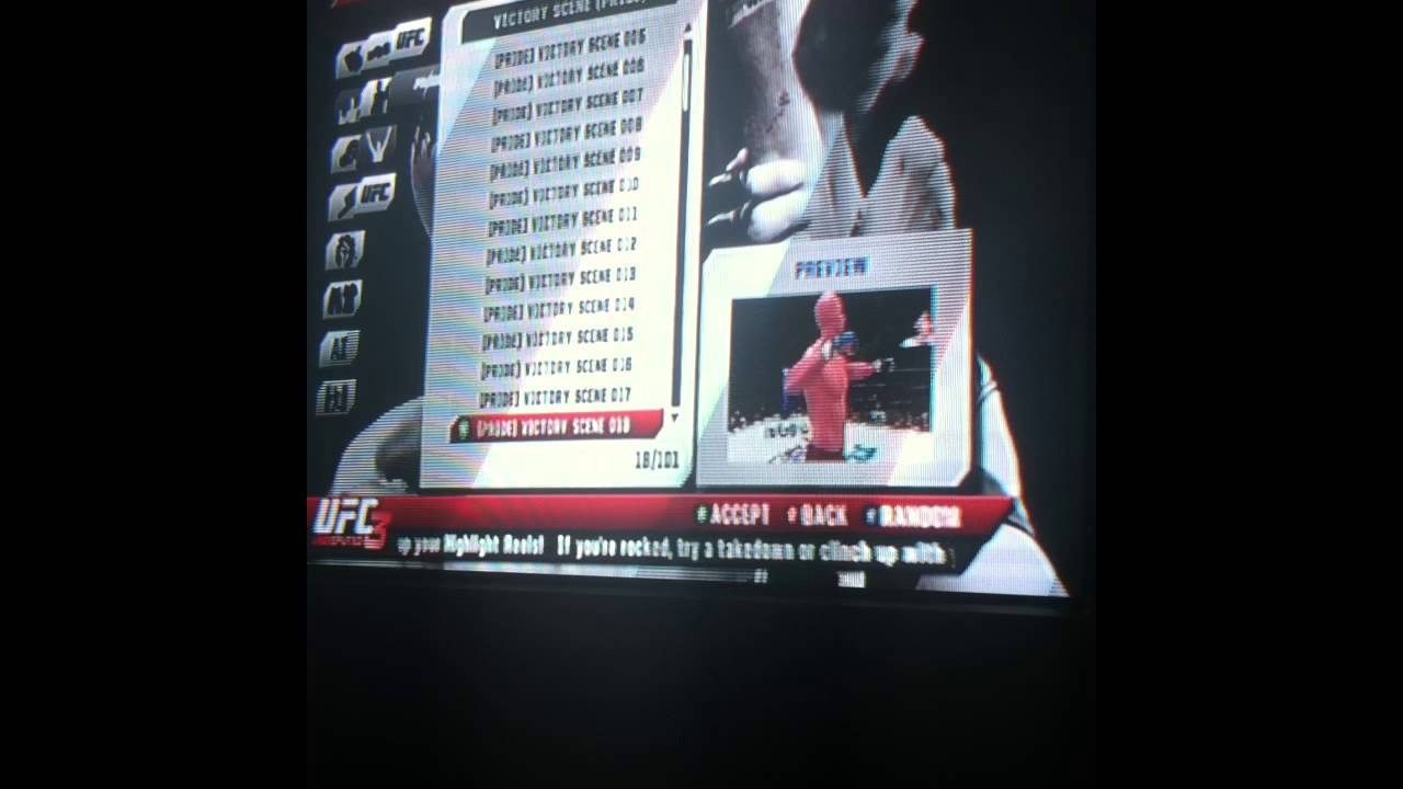 ufc undisputed 3 entrance song list