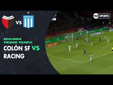 resumen-primer-tiempo:-colón-sf-vs-racing- -fecha-20---superliga-argentina-2019/2020