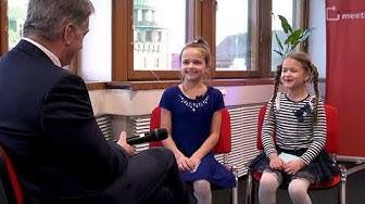 Sauli Niinistö vastaa lapsille - Children interview Finland's President
