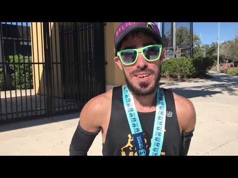 Post Gulf Coast Marathon Interview
