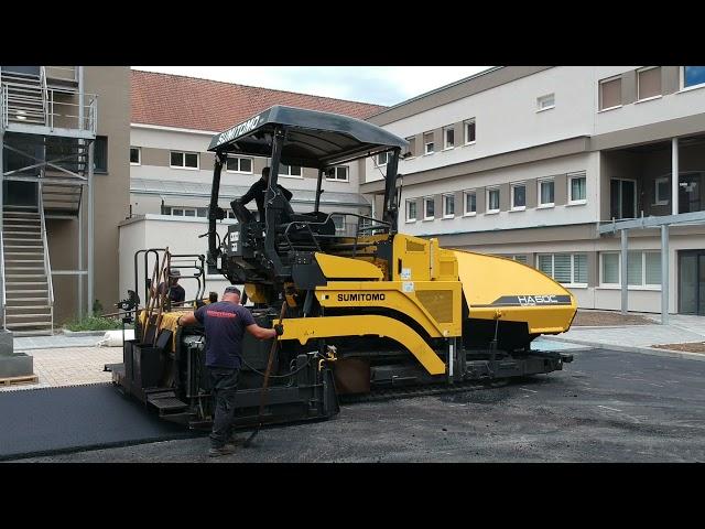 Sumitomo HA 60C - Jobsite in Belgium