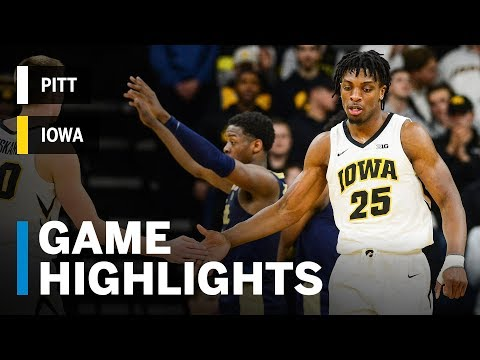 Highlights: Pitt at Iowa | Big Ten Basketball | ACC/Big Ten Challenge