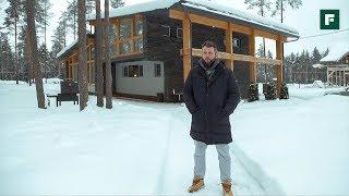 Компактный и динамичный: дом из дерева и камня родом из Эстонии