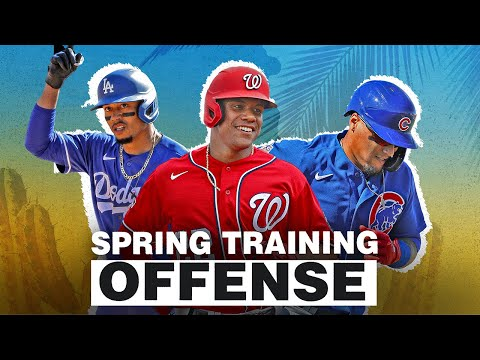 2020 Spring Training Home Runs + Other Offense! | Javier Baez, Juan Soto, Mookie Betts And More!