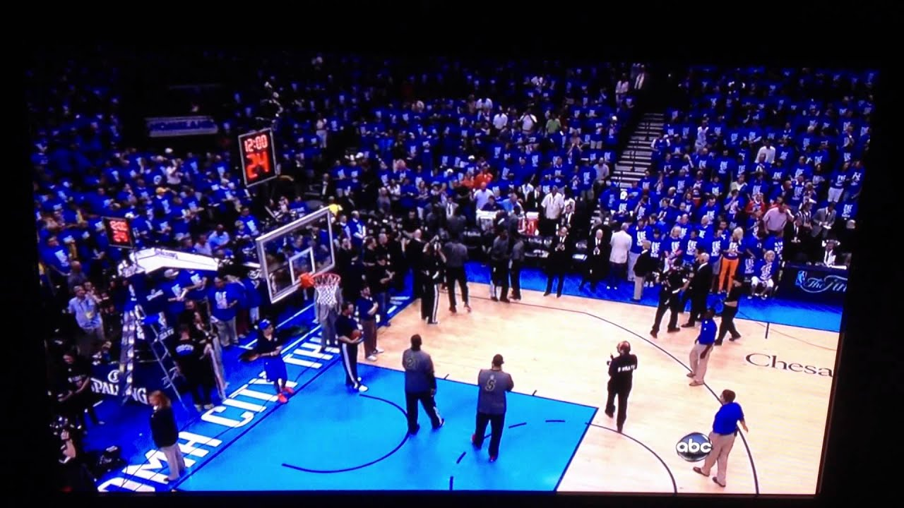 2011-2012 NBA Finals introductions game 1 - YouTube