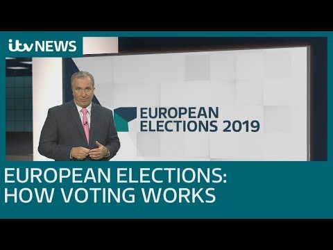 How does voting work in the European Elections? | ITV News