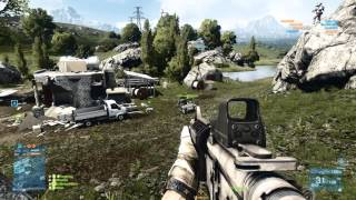 Battlefield 3 Multiplayer Gameplay Armored Kill 11.09