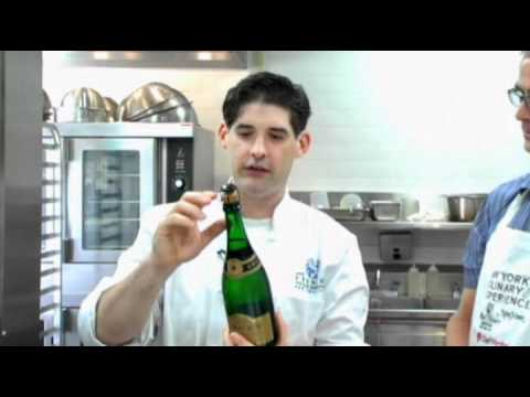 New York Culinary Experience: How To Saber Champagne