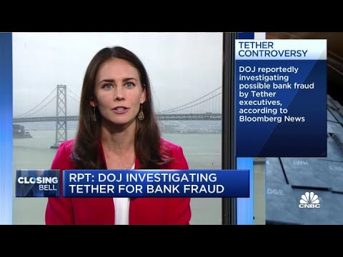 DOJ Investigating Cryptocurrency Tether For Bank Fraud: Report