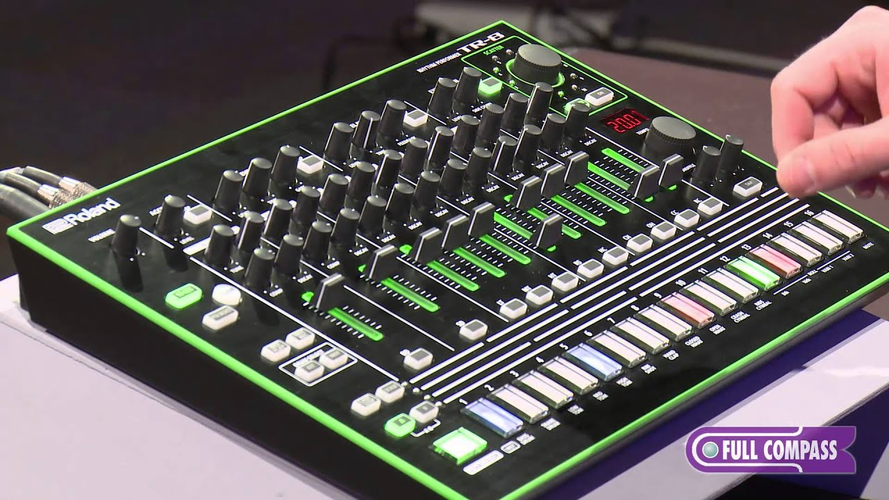 roland tr 8 performance drum machine overview full compass youtube. Black Bedroom Furniture Sets. Home Design Ideas