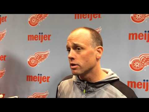 Red Wings coach Jeff Blashill discusses Nashville's talented back end and goalie Pekka Rinne
