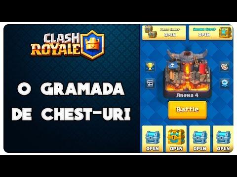 Clash Royale Romania | O gramada de cufere