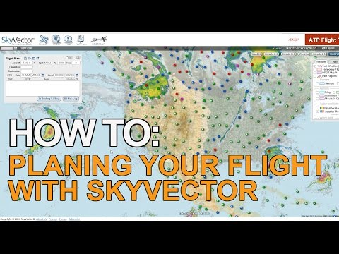 How To | Planning Your Flight With Skyvector