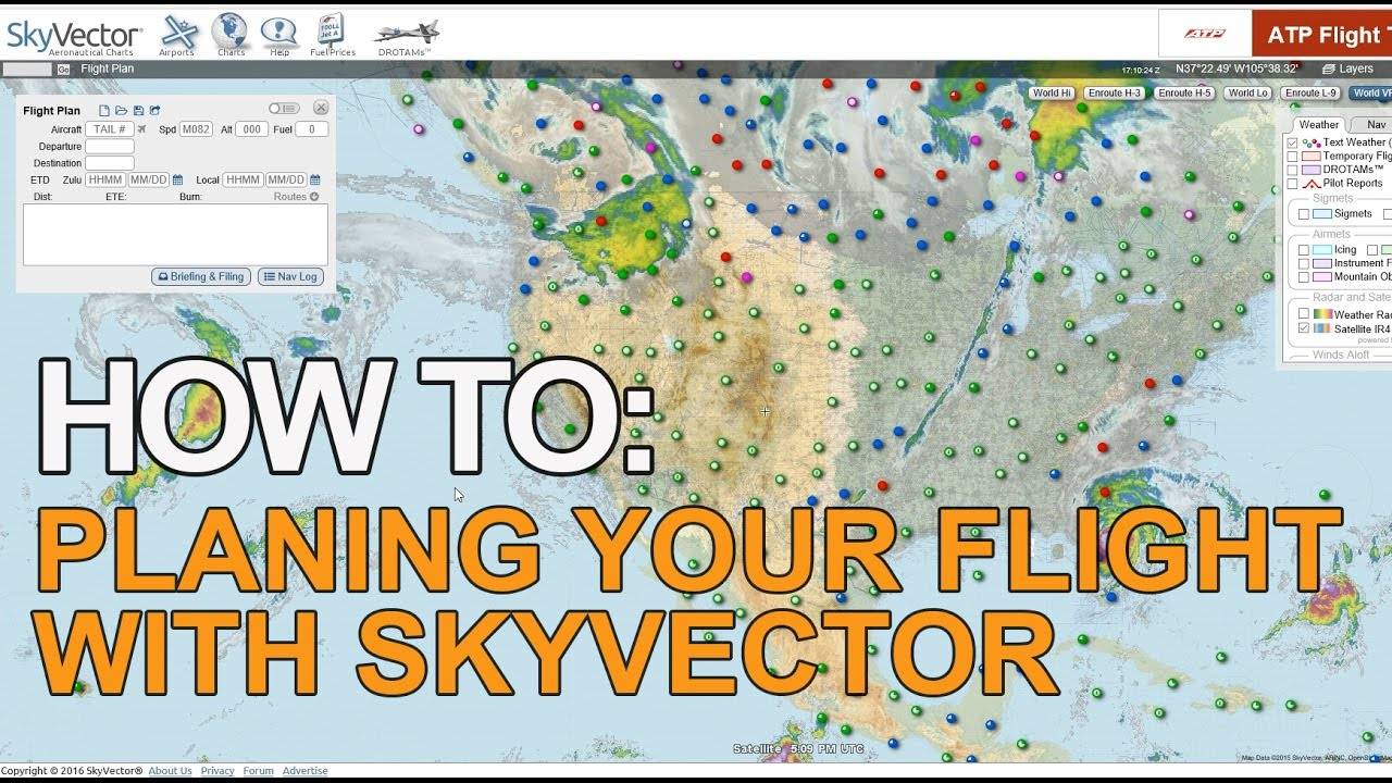 Skyvector flight vfr planning - How To Planning Your Flight With Skyvector