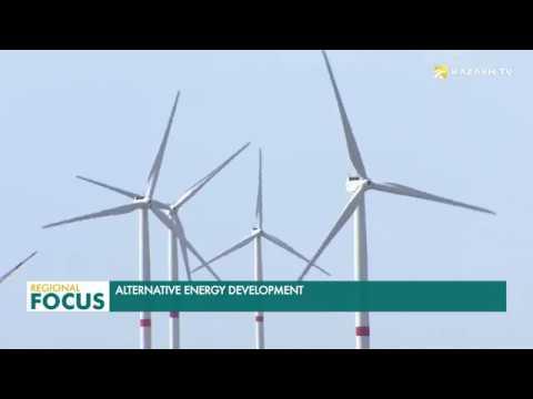 Kazakhstan has a large wind power potential