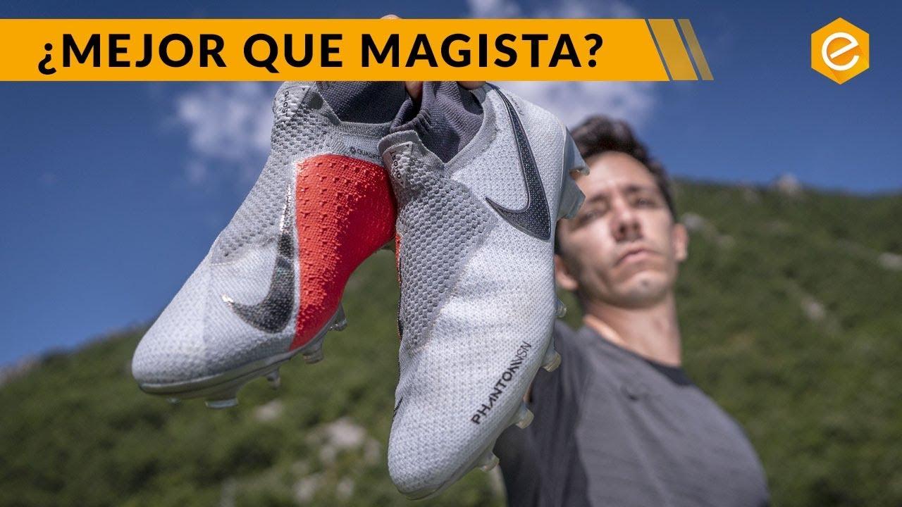 Decisión Partido escritorio  Nike PHANTOM Prueba en campo · Botas de fútbol Nike Phantom VSN - YouTube