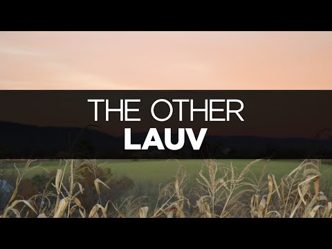 [LYRICS] Lauv - The Other