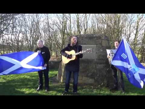 The amazing Kevin Gore.. Independence Day. Scotland's YES Song