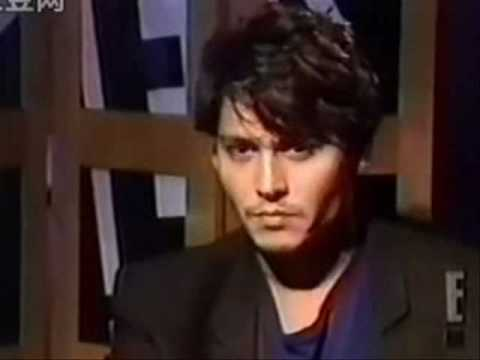 Johnny Depp interview E! 1994-about Nick Of Time...so cute!