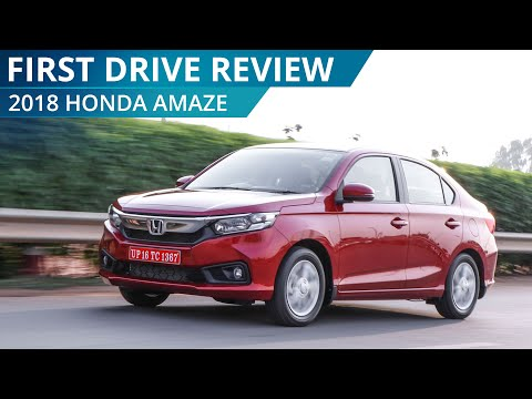 2018 Honda Amaze | First Drive Review | CarWale