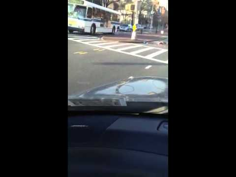 What happened today in Flushing between Northern Blvd and U