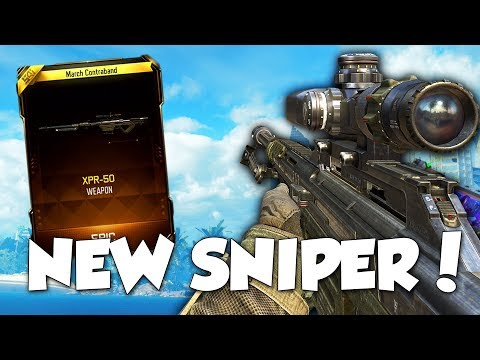 NEW DLC WEAPON in BLACK OPS 3! NEW SNIPER RIFLE SUPPLY DROP OPENING + INFECTED! (BO3 UPDATE)