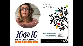 10@10 - The purpose driven life - Day 35 - Tracy Lewis