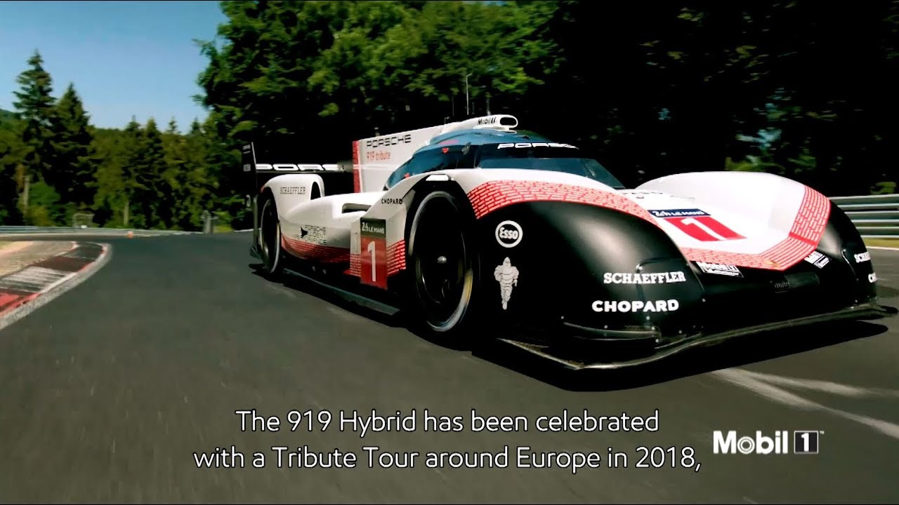 Mobil Libre Mobil 1 Engine Oil Celebrates Porsche 919 Tribute Tour