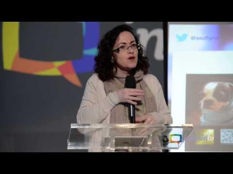 Siobhan O'Flynn at the InnovaTV '13 Conference