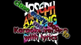 close every door to me - (Karaoke version with lyrics and beat-counting)