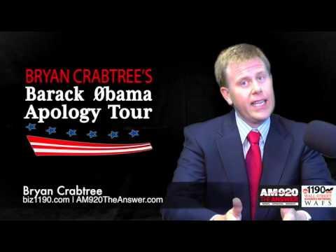 Bryan Crabtree's Barack Obama Apology Tour - Auto Industry Regulations