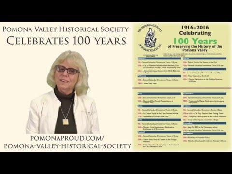 PDM, Pomona Historical Society 100 Years Of Pomona History