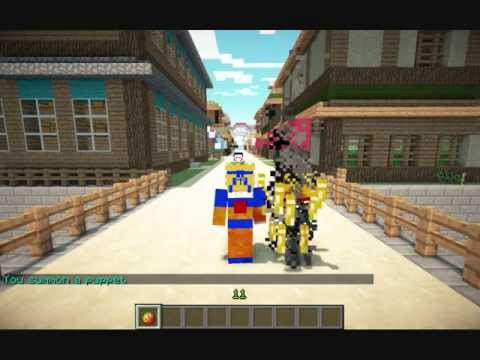 1 12 1 8 Naruto Minecraft Server Clan Jutsus Tutorial