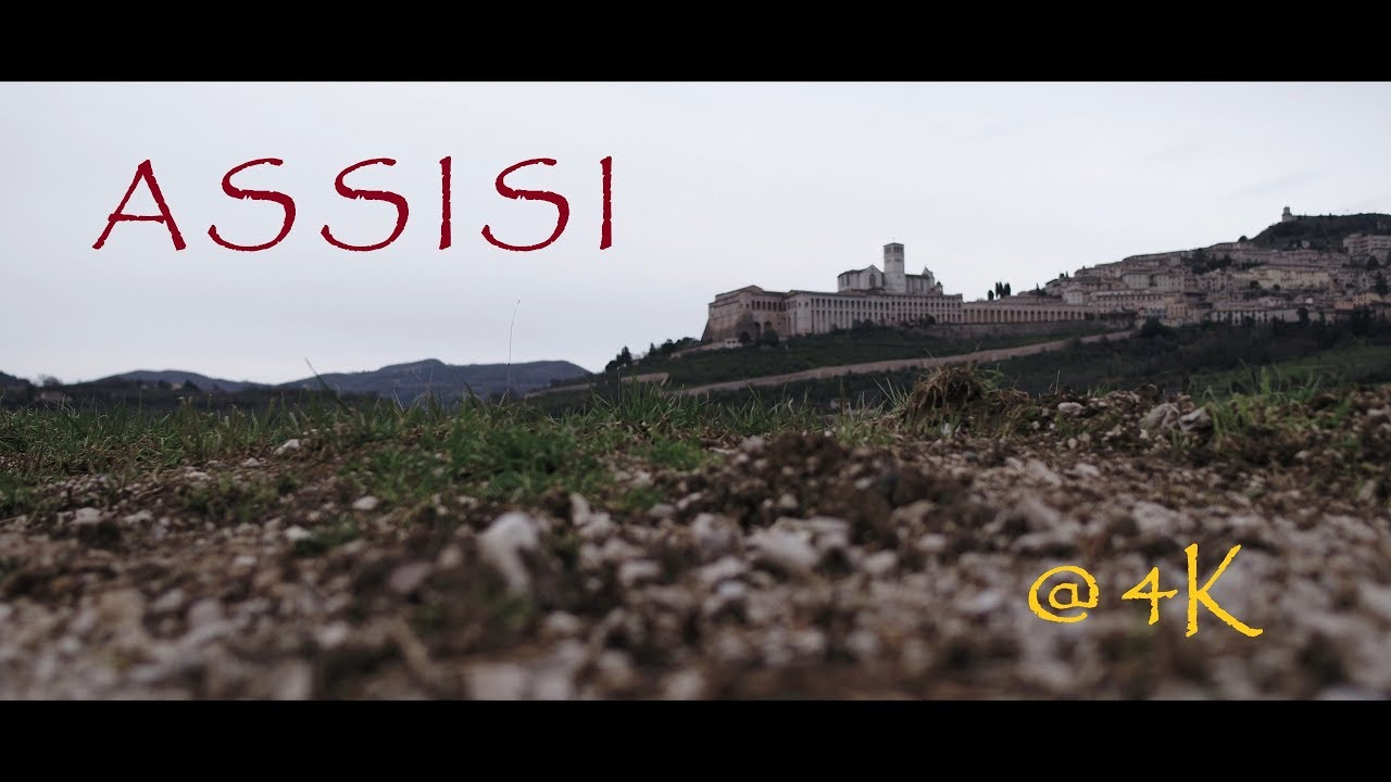 Assisi 2018 - Italy  @4K with a DJI Inspire2 drone