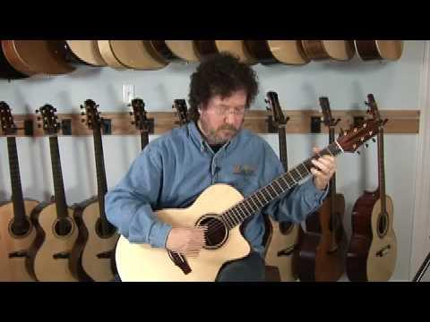"Dream Guitars Performance - ""Land Of The Sky"" - Al Petteway"