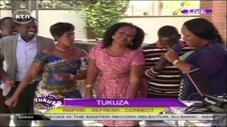 Tanzanian gospel music star Christina Shusho performs on KTN's Tukuza Show