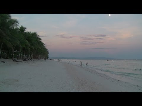 One of the best white sand beaches! (Dumaluan Bohol Philippines)