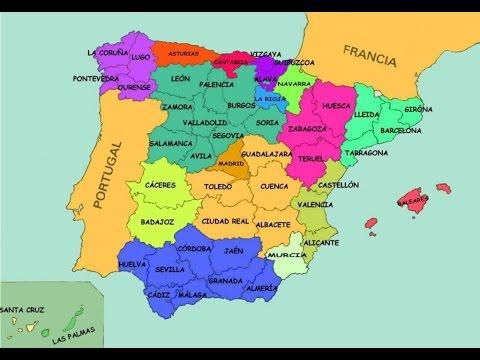 Canción de las provincias de España. Daniel Pattier