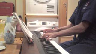 Liszt Hungarian Rhapsody n 2 part 1.by a yacht engineer in crew quarter.