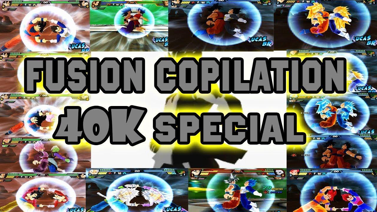(SPECIAL 40K) Fusion Copilation   Dragon Ball Z Budokai Tenkaichi 3 Mods