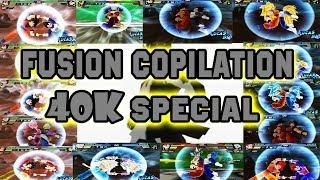 (SPECIAL 40K) Fusion Copilation | Dragon Ball Z Budokai Tenkaichi 3 Mods
