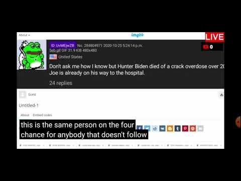 Major Breaking Rumour 1| Did Hunter Biden Just Die of Crack Overdose?