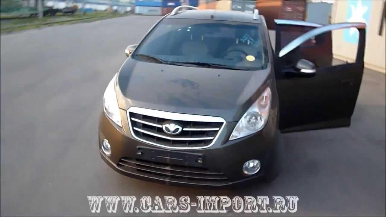 Машина Daewoo Matiz - YouTube