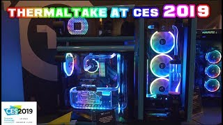 Thermaltake at CES 2019 - LEO showcases the RGB MADNESS!