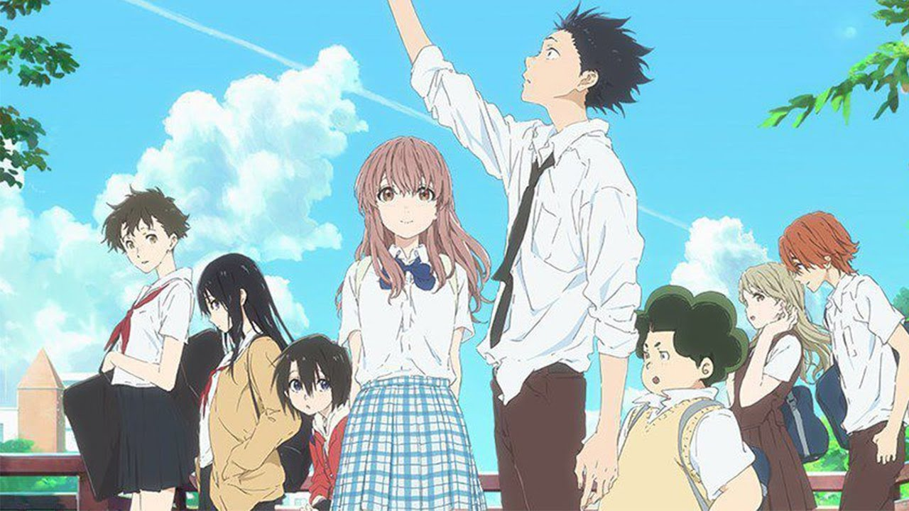 Top 5 anime similar to koe no katachi 聲の形 a silent voice