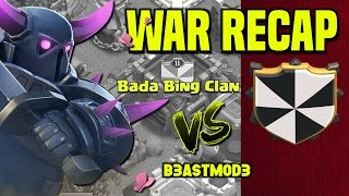Clash of Clans | CWL War Recap | Bada Bing Clan vs. B3astMod3 | November 16