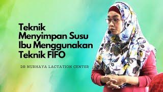 FIFO @teknik penyimpanan susu ibu