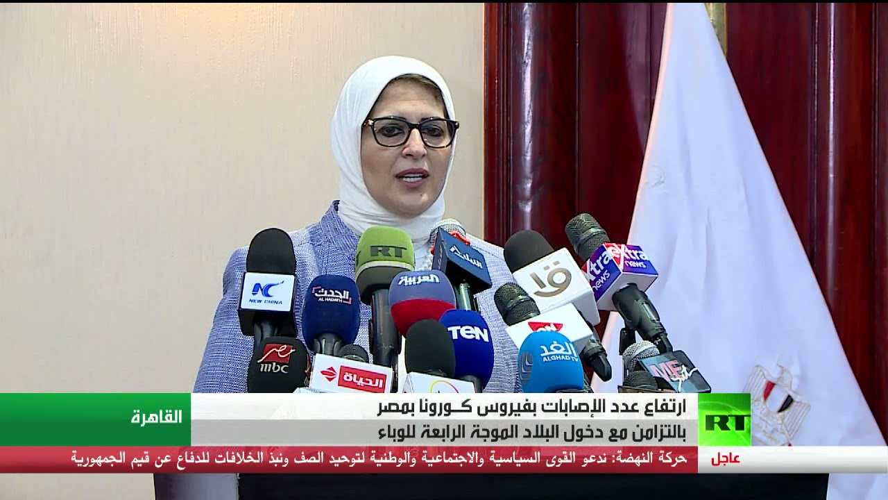 مصر ..  ارتفاع أعداد الإصابات بكورونا  - 21:56-2021 / 9 / 23